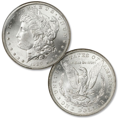 Image for 1889-S Morgan Silver Dollar from Littleton Coin Company