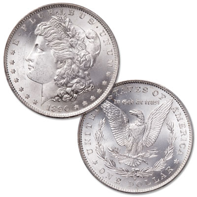 Image for 1890-S Morgan Silver Dollar from Littleton Coin Company