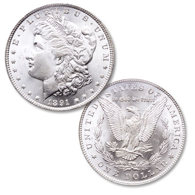 Image for 1891 Morgan Silver Dollar from Littleton Coin Company