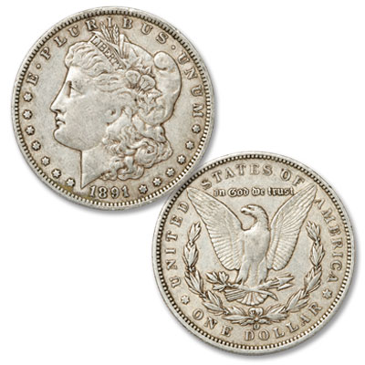 Image for 1891-O Morgan Silver Dollar from Littleton Coin Company