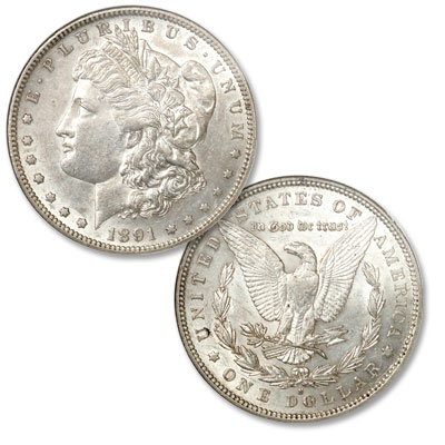 Image for 1891-S Morgan Silver Dollar from Littleton Coin Company