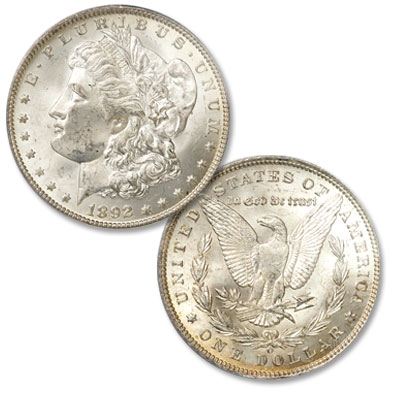 Image for 1892-O Morgan Silver Dollar from Littleton Coin Company