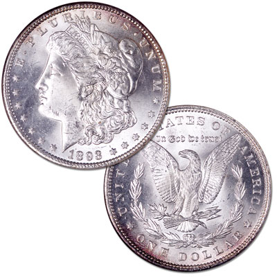 Image for 1893 Morgan Silver Dollar from Littleton Coin Company