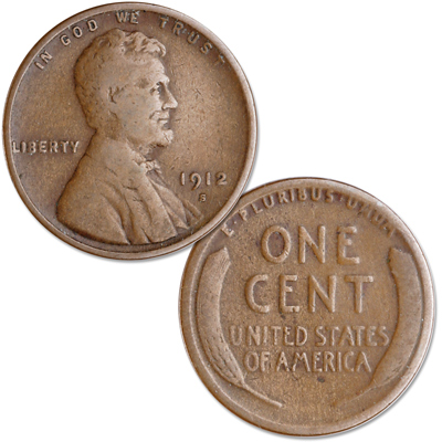 Image for 1912-S Lincoln Head Cent from Littleton Coin Company