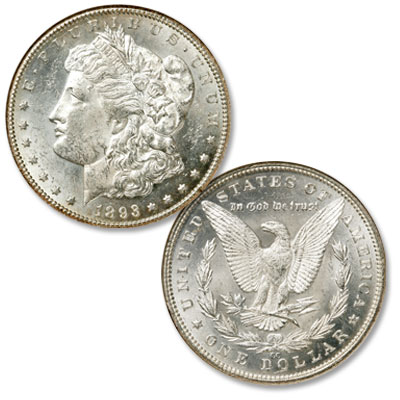 Image for 1893-CC Morgan Silver Dollar from Littleton Coin Company