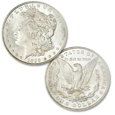 Image for 1895-S Morgan Silver Dollar from Littleton Coin Company