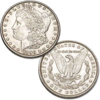 Image for 1896 Morgan Silver Dollar from Littleton Coin Company