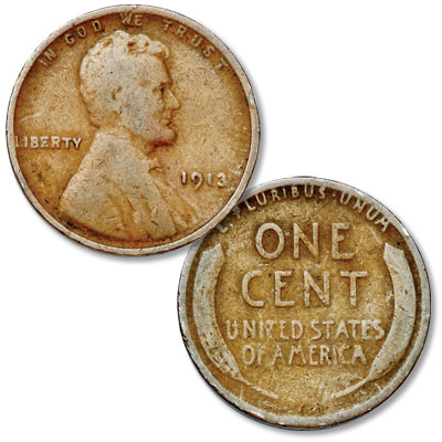 Image for 1913 Lincoln Head Cent from Littleton Coin Company