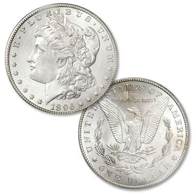 Image for 1896-S Morgan Silver Dollar from Littleton Coin Company