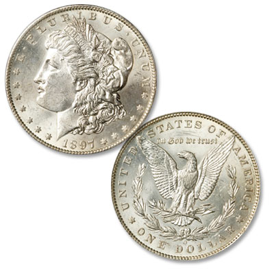 Image for 1897-O Morgan Silver Dollar from Littleton Coin Company