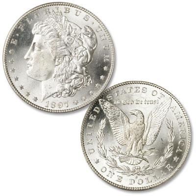 Image for 1897-S Morgan Silver Dollar from Littleton Coin Company