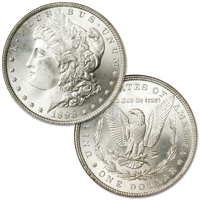 Image for 1898 Morgan Silver Dollar from Littleton Coin Company