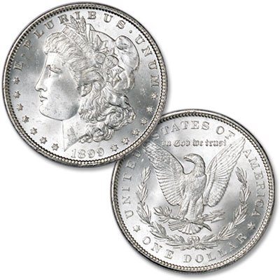 Image for 1899 Morgan Silver Dollar from Littleton Coin Company