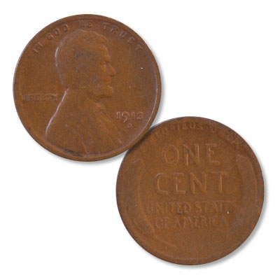 Image for 1913-D Lincoln Head Cent from Littleton Coin Company