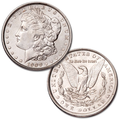 Image for 1900 Morgan Silver Dollar from Littleton Coin Company