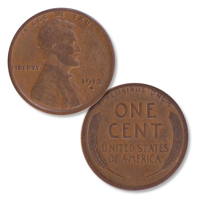 Image for 1913-S Lincoln Head Cent from Littleton Coin Company