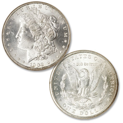 Image for 1902-S Morgan Silver Dollar from Littleton Coin Company