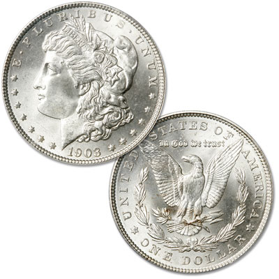 Image for 1903 Morgan Silver Dollar from Littleton Coin Company
