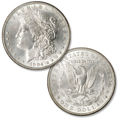 Image for 1904 Morgan Silver Dollar from Littleton Coin Company