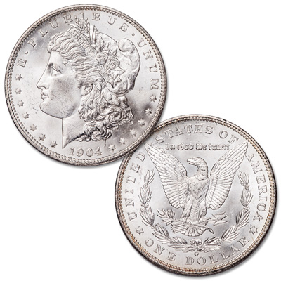 Image for 1904-O Morgan Silver Dollar from Littleton Coin Company