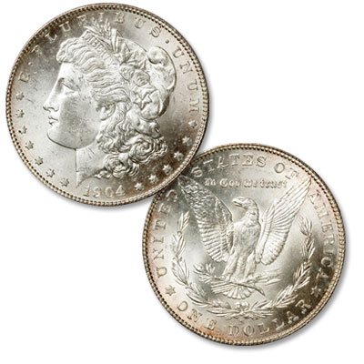 Image for 1904-S Morgan Silver Dollar from Littleton Coin Company