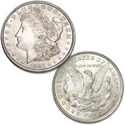 Image for 1921 Morgan Silver Dollar from Littleton Coin Company