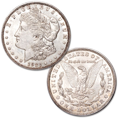 Image for 1921-D Morgan Silver Dollar from Littleton Coin Company