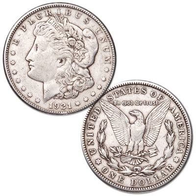 Image for 1921-S Morgan Silver Dollar from Littleton Coin Company