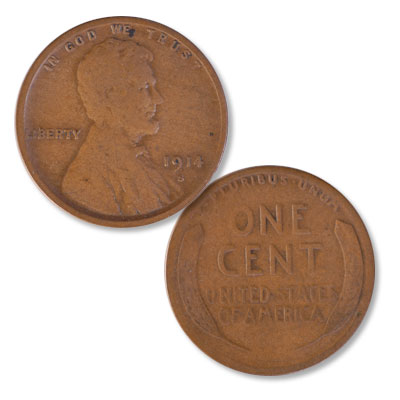 Image for 1914-S Lincoln Head Cent from Littleton Coin Company
