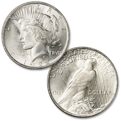 Image for 1922 Peace Silver Dollar from Littleton Coin Company