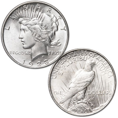 Image for 1923 Peace Silver Dollar from Littleton Coin Company