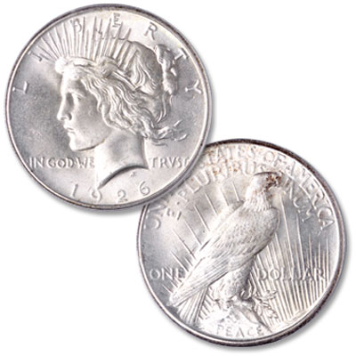 Image for 1926 Peace Silver Dollar from Littleton Coin Company