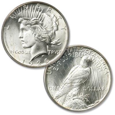 Image for 1926-D Peace Silver Dollar from Littleton Coin Company
