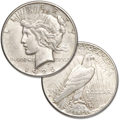 Image for 1926-S Peace Silver Dollar from Littleton Coin Company