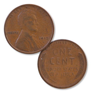 Image for 1915-D Lincoln Head Cent from Littleton Coin Company