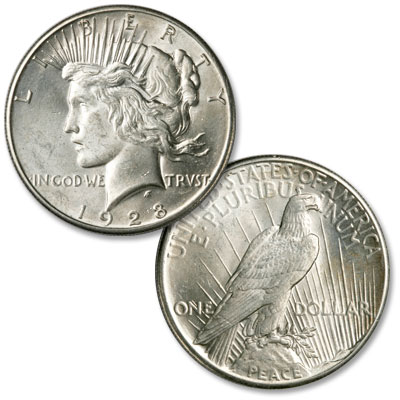 Image for 1928 Peace Silver Dollar from Littleton Coin Company