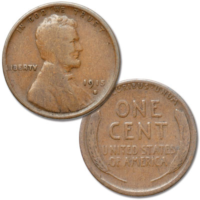 Image for 1915-S Lincoln Head Cent from Littleton Coin Company