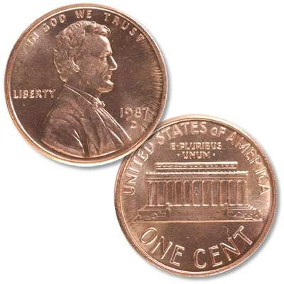 Image for 1987-D Lincoln Head Cent from Littleton Coin Company