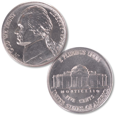 Image for 1987-P Jefferson Nickel from Littleton Coin Company
