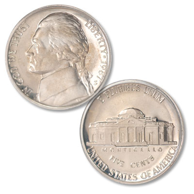 Image for 1987-S Jefferson Nickel Proof from Littleton Coin Company