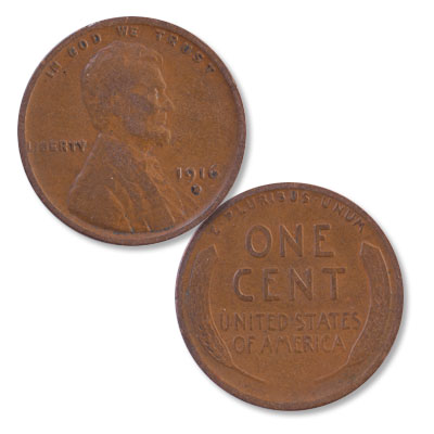 Image for 1916-D Lincoln Head Cent from Littleton Coin Company