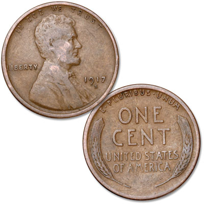 Image for 1917-S Lincoln Head Cent from Littleton Coin Company