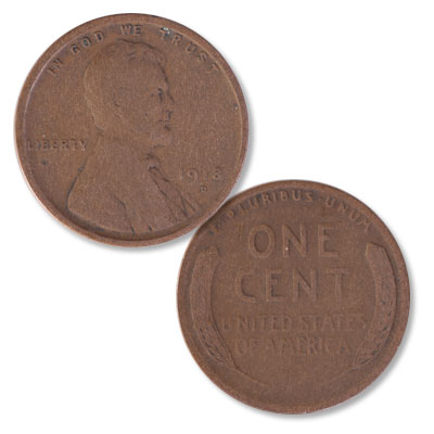 Image for 1918-D Lincoln Head Cent from Littleton Coin Company