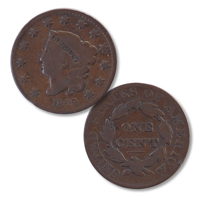Image for 1829 Liberty Head Large Cent, Large Letters from Littleton Coin Company
