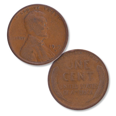 Image for 1919-D Lincoln Head Cent from Littleton Coin Company
