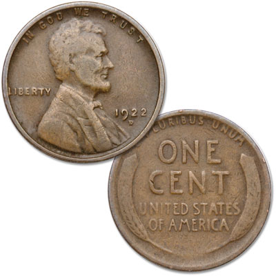 Image for 1922-D Lincoln Head Cent from Littleton Coin Company