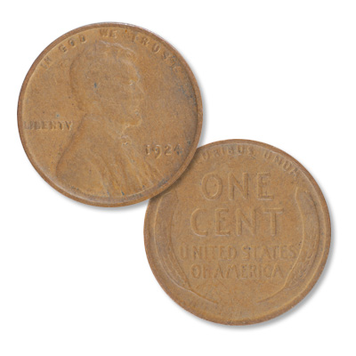 Image for 1924 Lincoln Head Cent from Littleton Coin Company