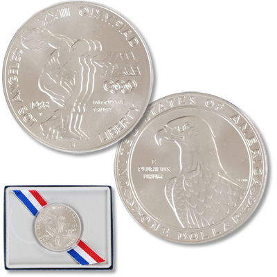 Image for Modern Commemorative - Silver - 1983-P MS63 from Littleton Coin Company