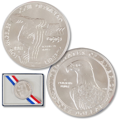 Image for 1983-D Los Angeles Olympiad Silver Dollar from Littleton Coin Company