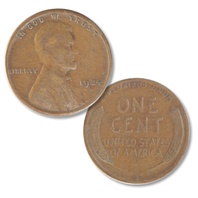 Image for 1924-S Lincoln Head Cent from Littleton Coin Company